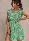 Zielona Sukienka Elefa