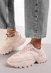 Różowe Sneakersy Tinlyss