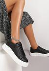 Czarne Sneakersy Fuawean