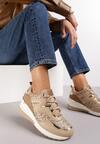 Camelowe Sneakersy Mydono