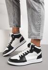 Biało-Czarne Sneakersy Venevel