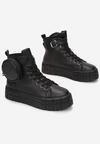 Czarne Sneakersy Briagaza