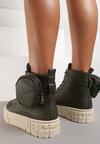 Oliwkowe Sneakersy Briagaza