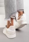 Biało-Beżowe Sneakersy Yulanez