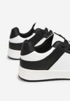 Czarno-Białe Sneakersy Yulanez
