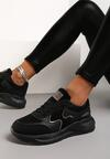 Czarne Sneakersy Lance