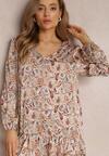 Różowa Sukienka Auriana