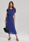 Niebieska Sukienka Clymeine