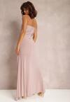 Fioletowa Sukienka Lamisa