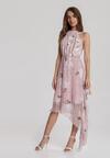 Różowa Sukienka Taniarephis