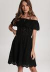 Czarna Sukienka Nemelana