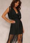 Czarna Sukienka Mhyrlia