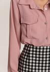 Różowa Koszula Xilnee