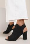 Czarne Sandały Phisvienne