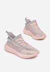 Różowo-Szare Buty Sportowe Iphorise