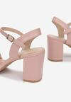 Różowe Sandały Sabosi