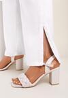 Beżowe Sandały Sabosi