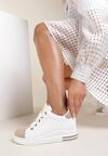 Biało-Beżowe Sneakersy Malimeni