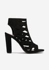 Czarne Sandały Tryxlea