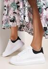 Biało-Czarne Sneakersy Sylilise