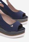 Niebieskie Sandały Crethoesa