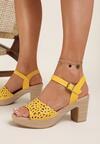 Żółte Sandały Ophiedice