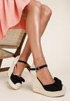 Czarne Sandały Wylinnys