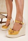 Żółte Sandały Wylinnys