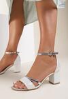Srebrne Sandały Equal