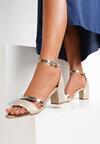 Złote Sandały Equal