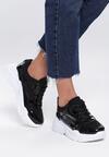 Czarne Sneakersy Wire