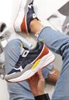 Granatowe Sneakersy Grasse