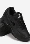 Czarne Buty Sportowe Peach Perfect
