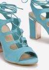 Niebieskie Sandały Vhesriane