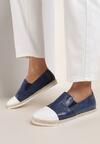 Granatowe Slip On Ebullience