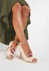 Beżowe Sandały Aboriginal