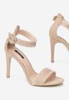 Beżowe Sandały Sonorous