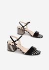 Czarne Sandały Nefarious