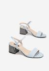 Niebieskie Sandały Nefarious