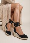 Czarne Sandały Attractive