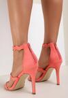 Pomarańczowe Sandały Hominem