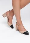Beżowe Sandały Pyrrhic