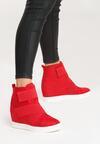 Czerwone Sneakersy Scarlett
