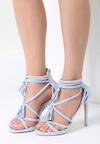 Niebieskie Sandały By Heart