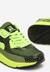 Zielone Sneakersy Leucolinai