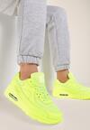 Limonkowe Neonowe Buty Sportowe Good Promises
