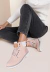 Różowe Traperki Blue Shoes
