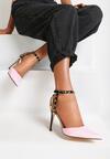 Różowe Sandały See Me Feel Me