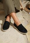 Czarne Slip On Old Sun