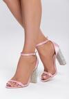 Różowe Sandały Feel The Rhythm